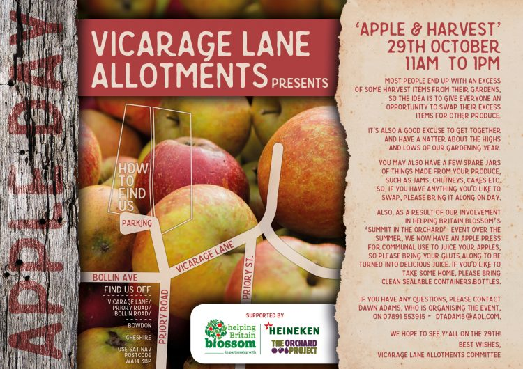 Vicarage Lane Allotments